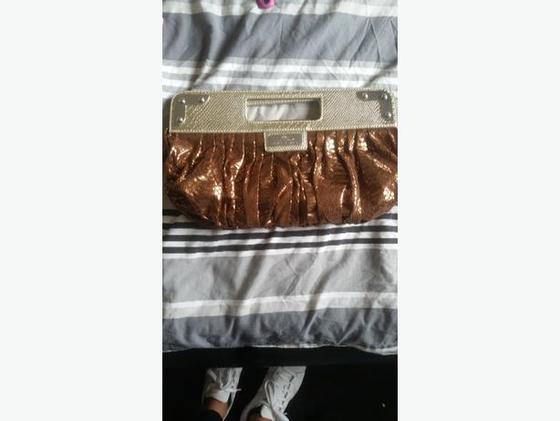 River Island clutch bag never used