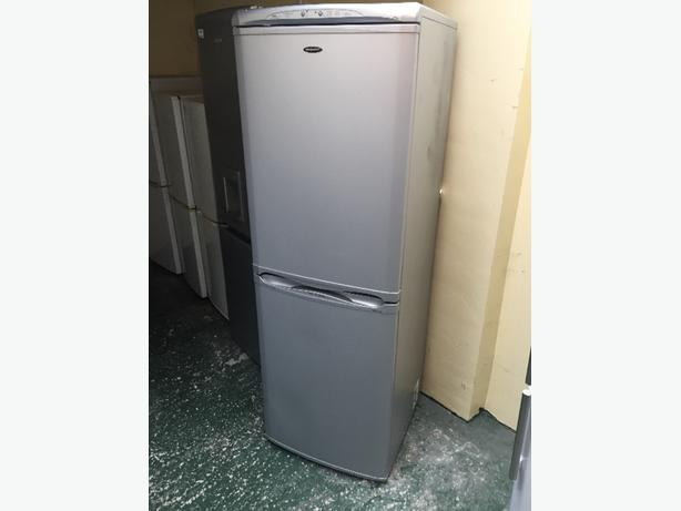 💎☀️lovely hotpoint silver fridgefreezer
