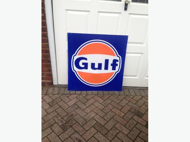 Large Gulf sign (man cave)