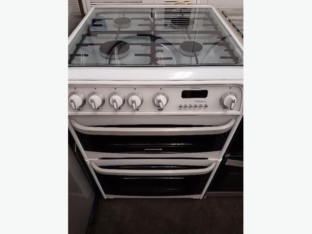 hotpoint 600 double oven gas