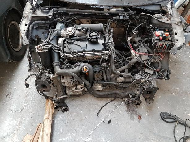 complete vw golf mk5 engine Inc turbo and gearbox only 99k covered