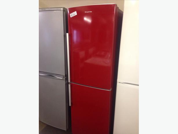 RED RUSSELL HOBBS FRIDGE FREEZER090