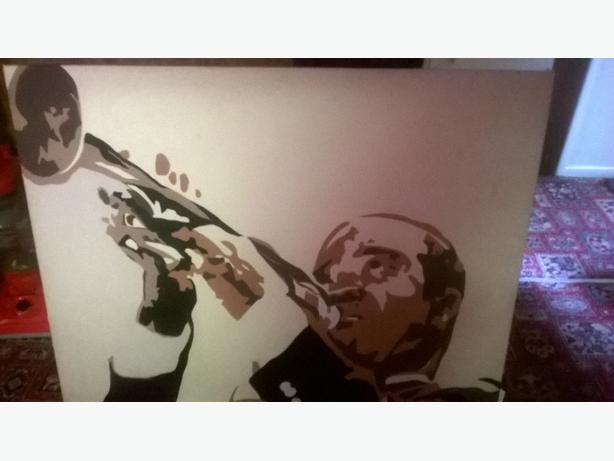 louis armstrong canvass