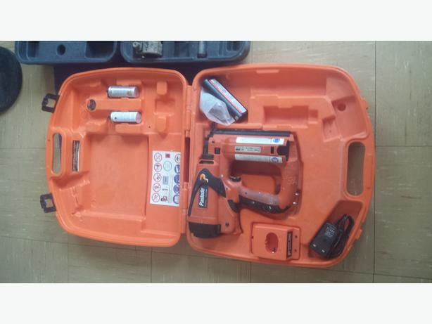 Pasloade nail gun and a rockworth power breaker