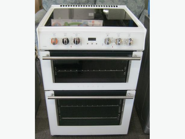 Stoves 60cm Electric Cooker, Ceramic Hob, Double Oven, 6 Month Warranty
