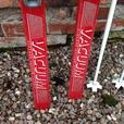 Snow Skis by Tyrolia with poles & holdhall