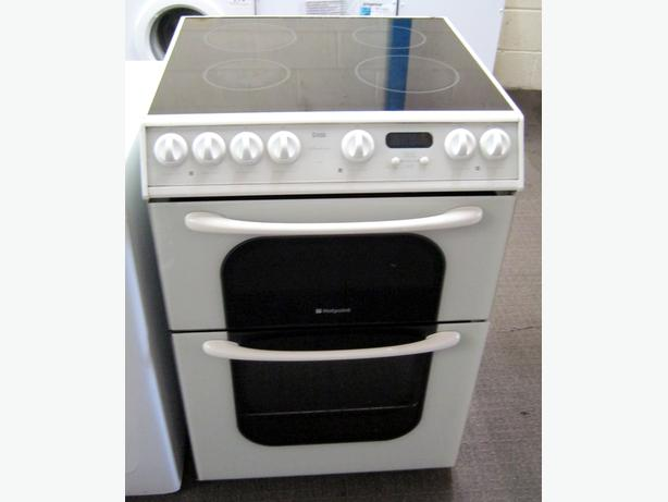 Hotpoint 60cm Electric Cooker, Ceramic Hob, Fan Oven, 6 Month Warranty
