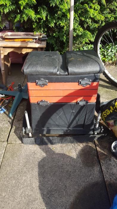 Fishing box wednesbury sandwell for Tap tap fish corgi