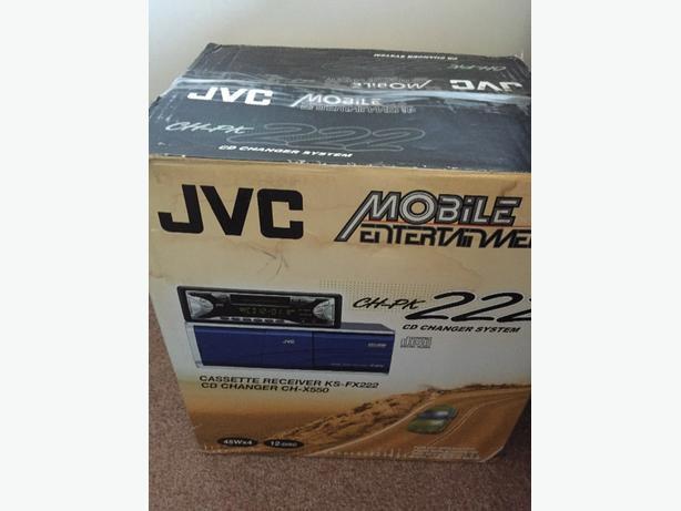 brand new jvc multi changer