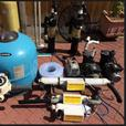 Koi pond equipment