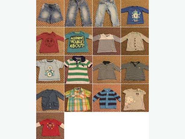 9-12 months bundle of clothes