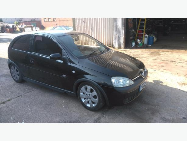 vauxhall corsa c z20let breaking