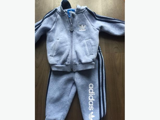 adidas track suit 6-9 months