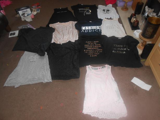 RIVER ISLAND GIRLS CLOTHES AGE 11 TO 12 YEARS
