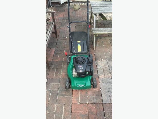 qualcast 125cc petrol lawnmower