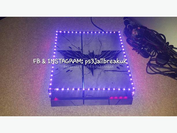LED MODDED BATMAN PS4 FOR SALE