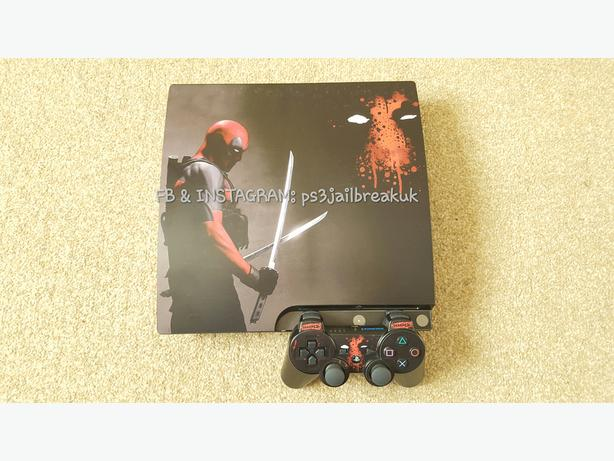 DEADPOOL JAILBROKEN PS3 FOR SALE.
