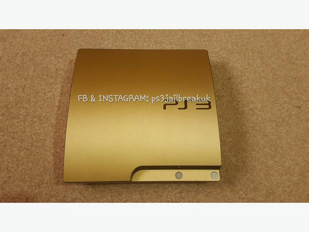 GOLD JAILBROKEN PS3 FOR SALE.