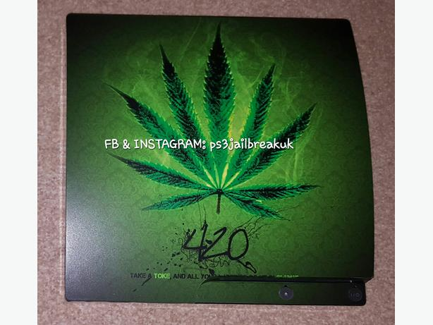 GANJA JAILBROKEN PS3 FOR SALE.