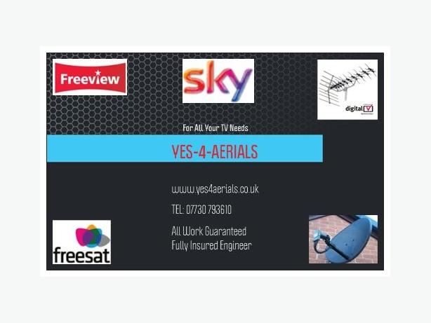 YES-4-AERIALS.......aerial and satellite dish services