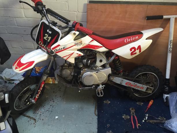125cc pit bike, dirt bike