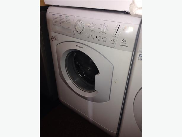 6KG HOTPOINT WASHING MACHINE031