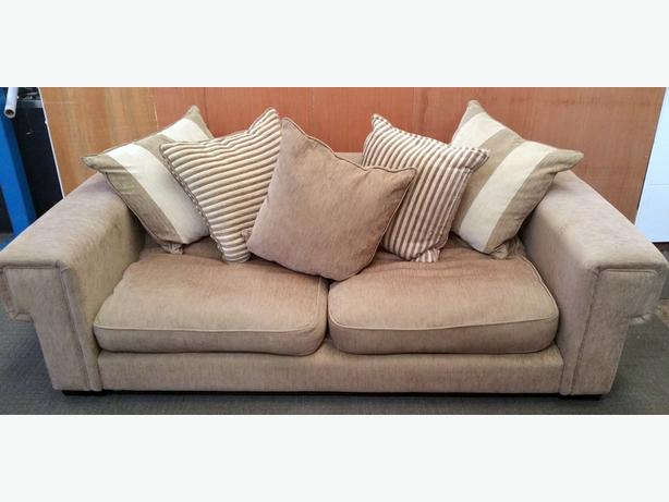 LARGE DFS SOFA, CREAM/BEIGE - LOVELY CONDITION