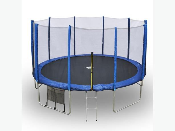 14ft  TRAMPOLINE FOR SALE £100 ono call 07757 023 539