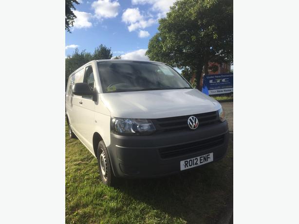 Volkswagen Transporter T5 Van White 2014