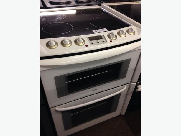 60CM ZANUSSI DOUBLE OVEN ELECTRIC COOKER01