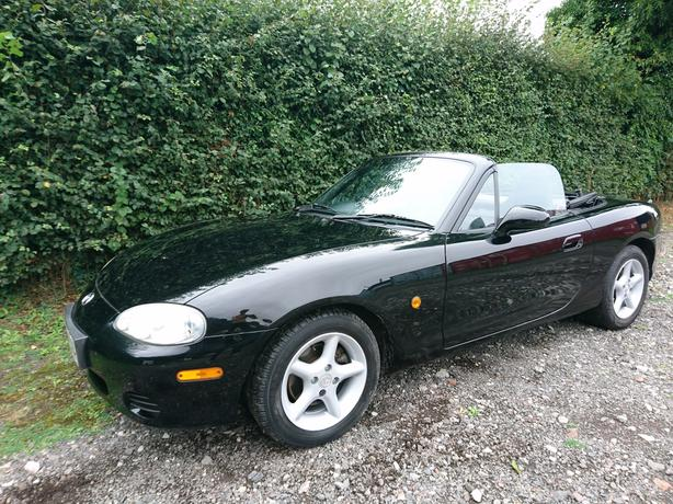 2002, 02 Reg Mazda Mx-5 1.6 Mk2.5 Full service history alloys electic windows