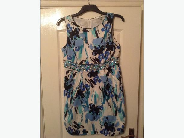 Modern dress from M&Co wirn twice size 18