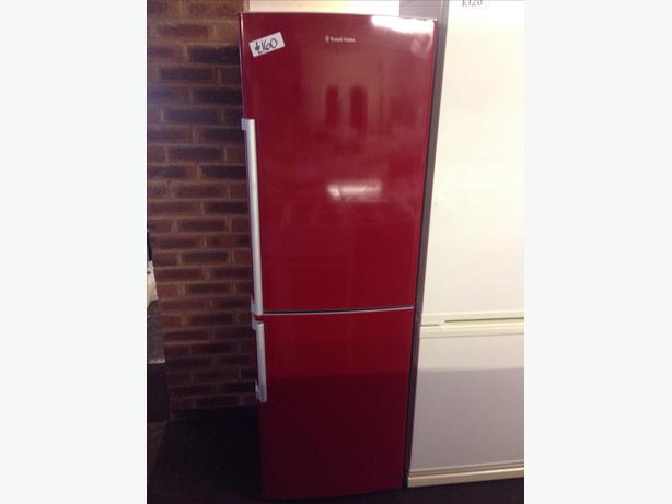 RED RUSSELL HOBBS FRIDGE FREEZER035
