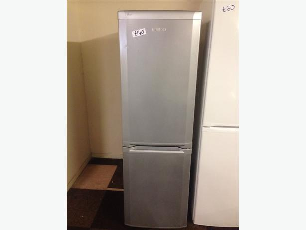 SILVER BEKO FRIDGE FREEZER11