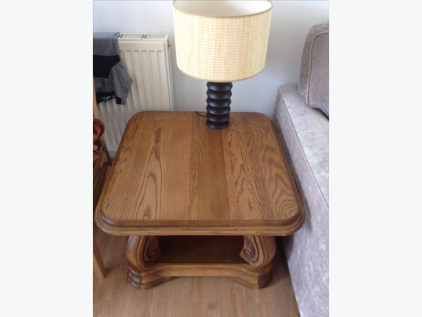 Solid wood brand new lamp or coffe table