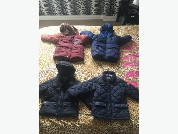 4 next boys coats