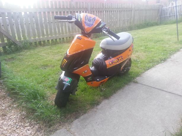 racing mini moped open to offers