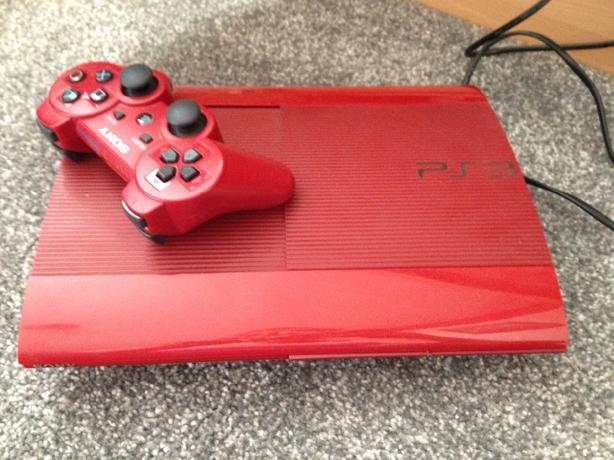 ps3 red slimline