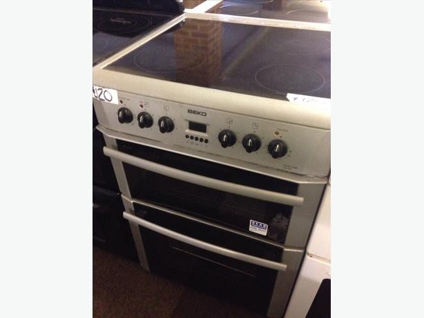 60CM BEKO ELECTRIC COOKER DOUBLE OVEN03