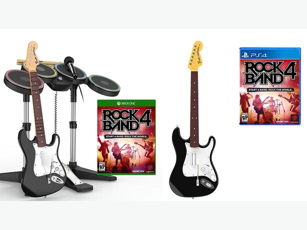 rockband4 game with full accessories guitar ,etc xbox one