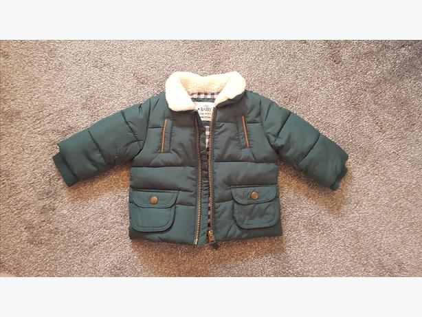 M&S boys winter coat Size 3-6months