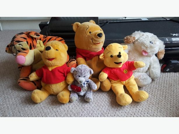 bundle of teddys or will sell separately