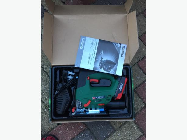 BNIB Parkside Cordless 18V Jigsaw, Lithium Battery. NO OFFERS OR TIME WASTERS