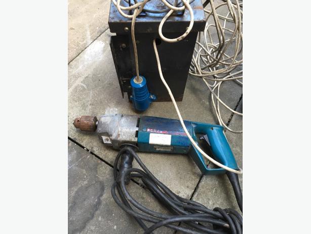 bosch 110v dril and transformer
