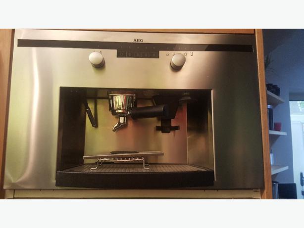 Aeg Pe8038m Integrated Coffee Machine Tipton Walsall Mobile