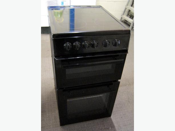 Beko BDVC563AK Black 50cm Electric Cooker, Ceramic Hob, 6 Month Warranty