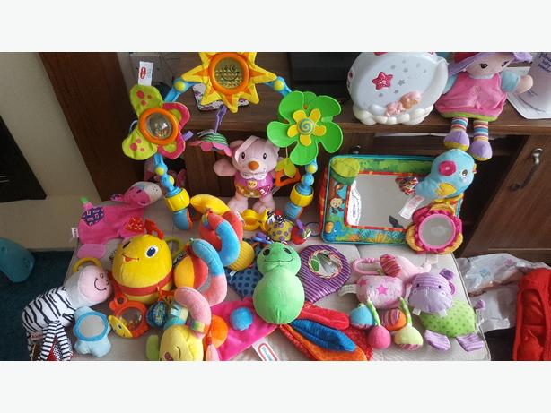 0 months + toy bundle