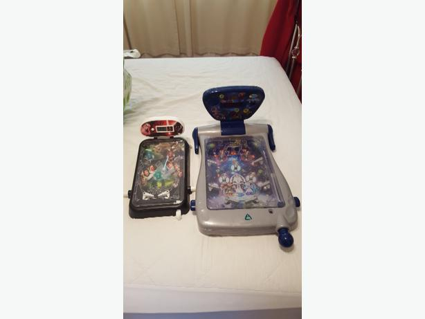 2 Pinball games £4 each