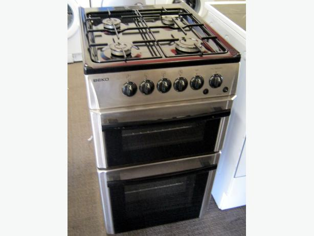 Beko 50cm Silver Gas Cooker with 6 Month Warranty