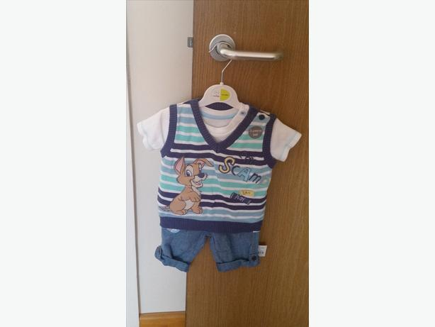Brand New Baby Boys Outfit Age 0-3 Months